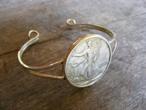 Walking Liberty Bracelet
