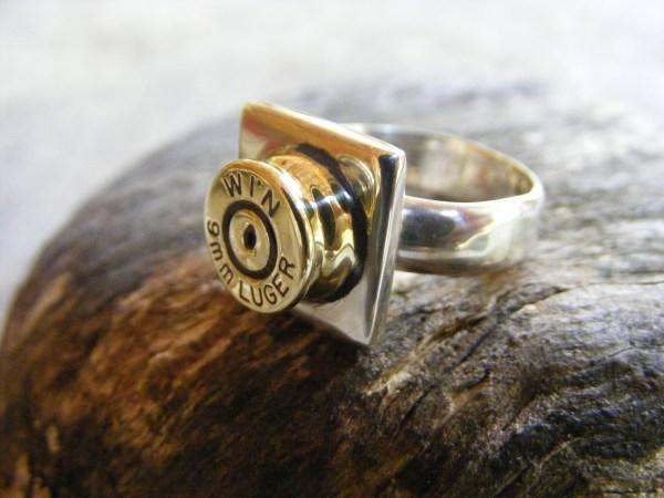 Square Bullet Ring