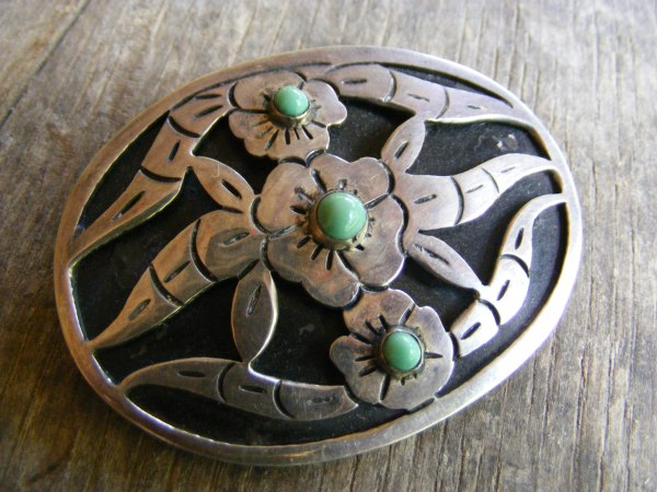 Flower Pin – Vintage Mexican