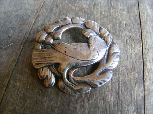 Georg Jensen Style Dove Pin 1