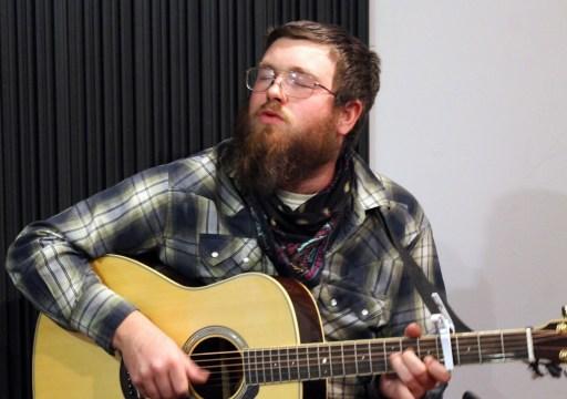Derek Blake playing Folk Music