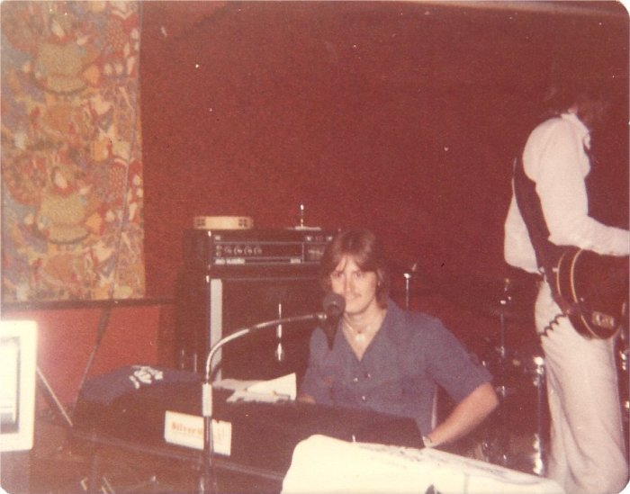 When I went to piano, Ken switched to bass. That's my vintage 1967 Hofner Beatle Bass which I still own!