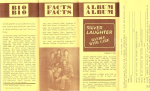 Silver Laughter Promo side 2