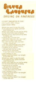 """Lyrics for """"I Can't Believe In You"""""""