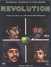 """Revolution"" sheet music"