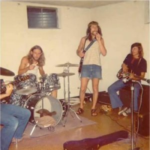 Craig's legs, Paul, Dave and Mick
