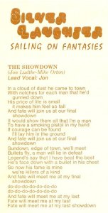 "Lyrics for ""The Showdown"""