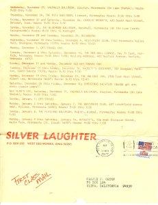 Nov-Jan 1977 Schedule