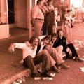 Silver Laughter - 1976 - Paul, Ken, Mick and Jon