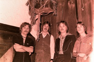 Silver Laughter 1977 - Paul, Ken, Jon and Mick