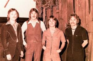 Silver Laughter 1977 - Jon, Ken, Mick and Paul
