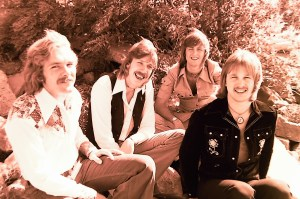 Silver Laughter 1976 - Paul, Ken, Mick and Jon