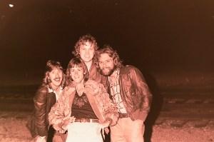 Silver Laughter 1978 - Ken, Nick, Jon and Paul