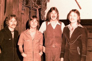 Silver Laughter 1977 - Paul, Mick, Ken and Jon