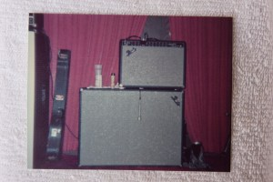 Fender amp and cabinet - Jon's?