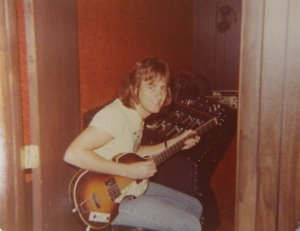 Mick on bass