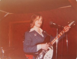 Jon on the Rickenbacker 12 string