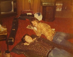 Mick and Ken on the floor