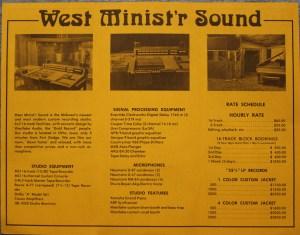 Westminst'r  brochure inside