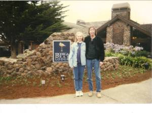 Lily and Ken in Bodega Bay