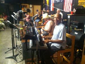 Robert Parker playing organ
