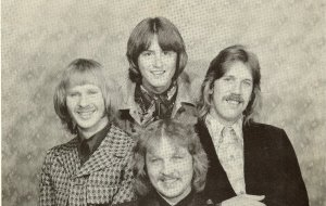 Silver Laughter 1976 - Kim, Mick, Ken and Jon (front)