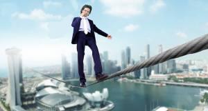 Steve Elliott on Tightrope
