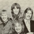 Silver Laughter 1976 - Kim, Mick, Ken and Jon in front