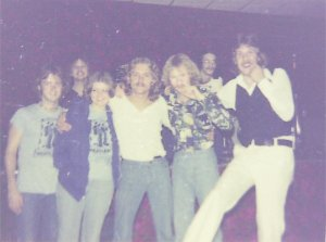 Silver Laughter group photo 1976