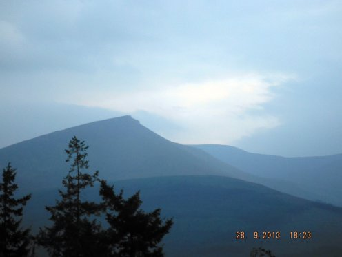 The Majestic Galtee Mountains
