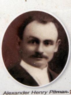 Alexander Henry Pitman - Image from the Karrakatta Heritage Trail Plaque
