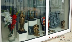 Shop selling Grave memorials in all shapes