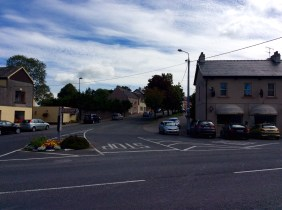 Main part of village just off the busy Newcastle West - Foynes Road