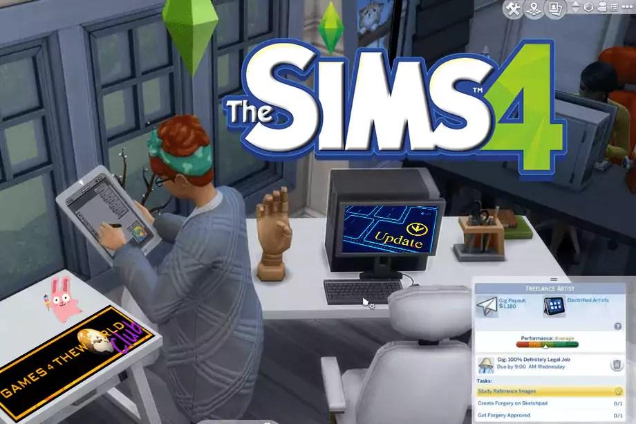 Sims 4 Freelancer Update 1.51.77.1020 G4TW