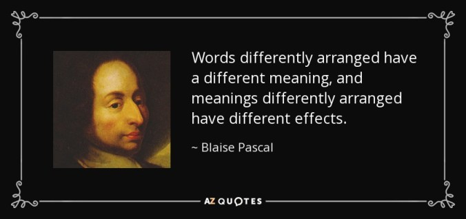 words have different meanings