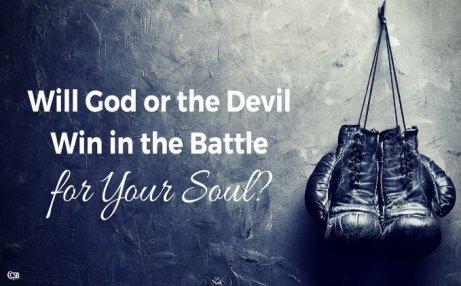 battle over soul
