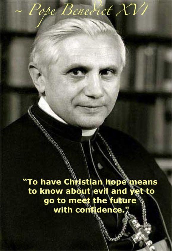 Pope Benedict XVI on hope