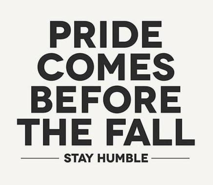 humility over pride