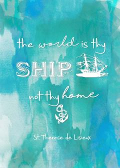 St. Therese of Liseux quote