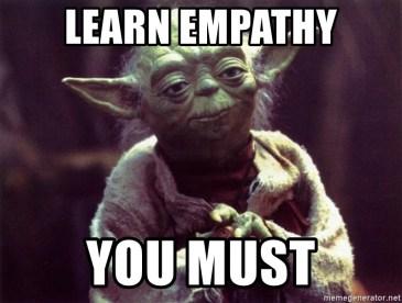 Learn empathy meme