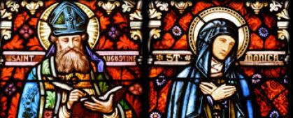 St. Augustine and Monica