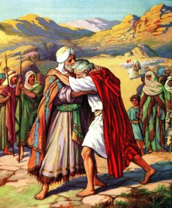 Jacob and Esau Reconcile