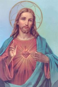 sacred heart of Jesus is our home