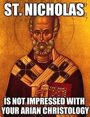Saint Nick Arian meme