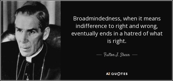 Fulton Sheen quote