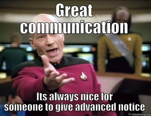 Communication is key