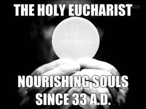 Eucharist meme