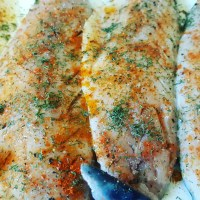 Pan Fried Mackeral with Capers & Baby Gherkins...