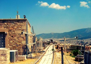 Top of the Acropolis (Athens)