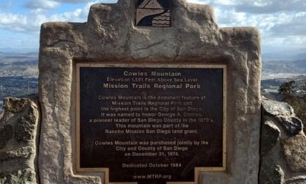 Cowles Mountain via Golfcrest Drive